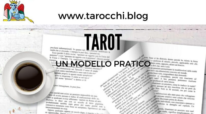 Tarot - Un modello pratico Libro tarocchi tarologia cartomanzia