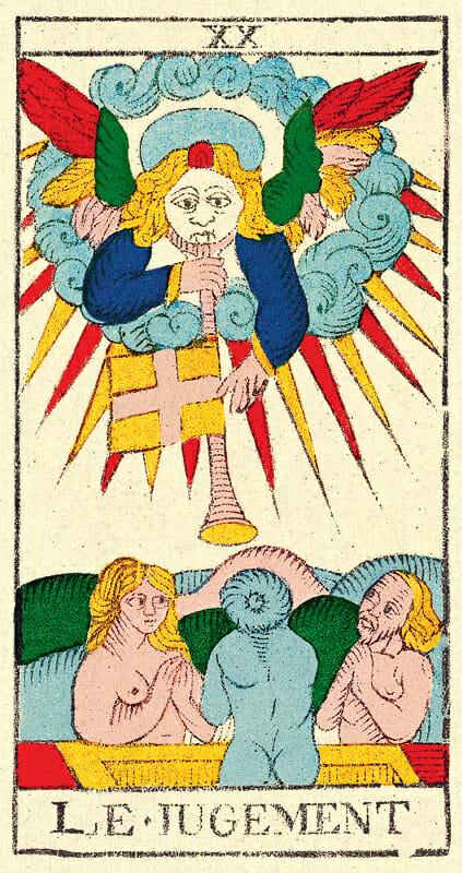 20_le_jugement 1760 nicolas conver Tarocchi di Marsiglia