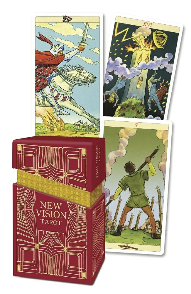 Tarot Of New Vision Pamela Colman Smith