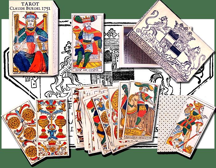 claude burdel tarocchi di marsiglia significato carte gratis