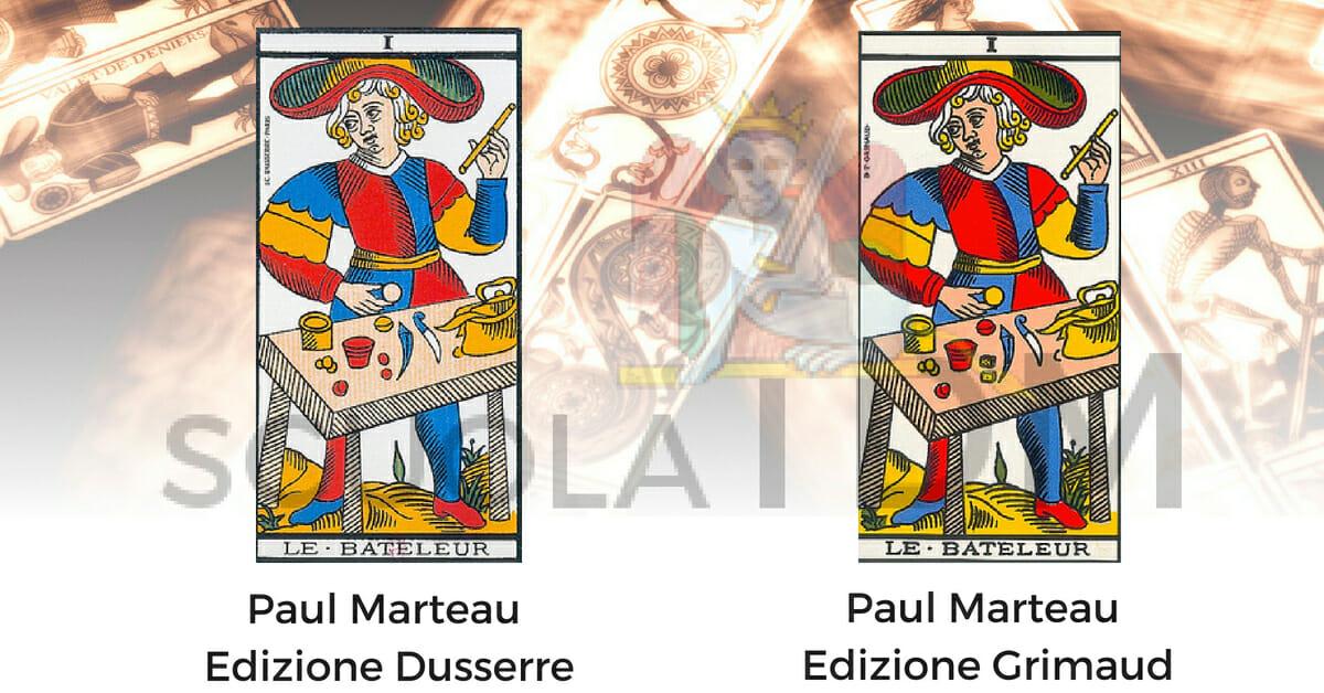 Le Bateleur Il Bagatto Paul Marteau Grimaud Dusserre Arcano 1