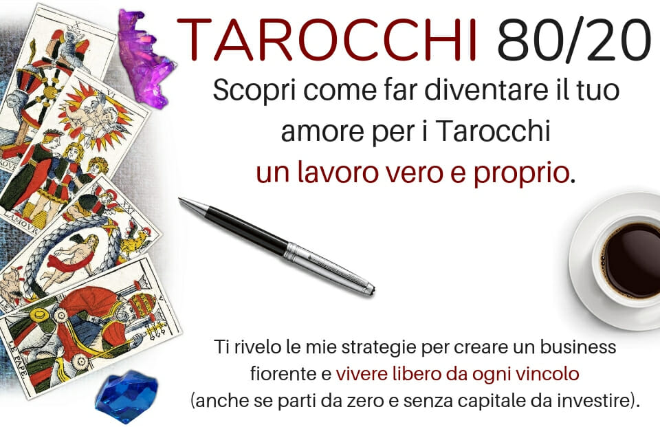 TArocchi 80/20 Guadagna Con I Tarocchi