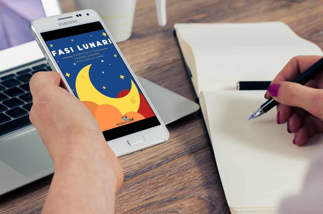 Fasi Lunari Banner ebook gratuito Cicli