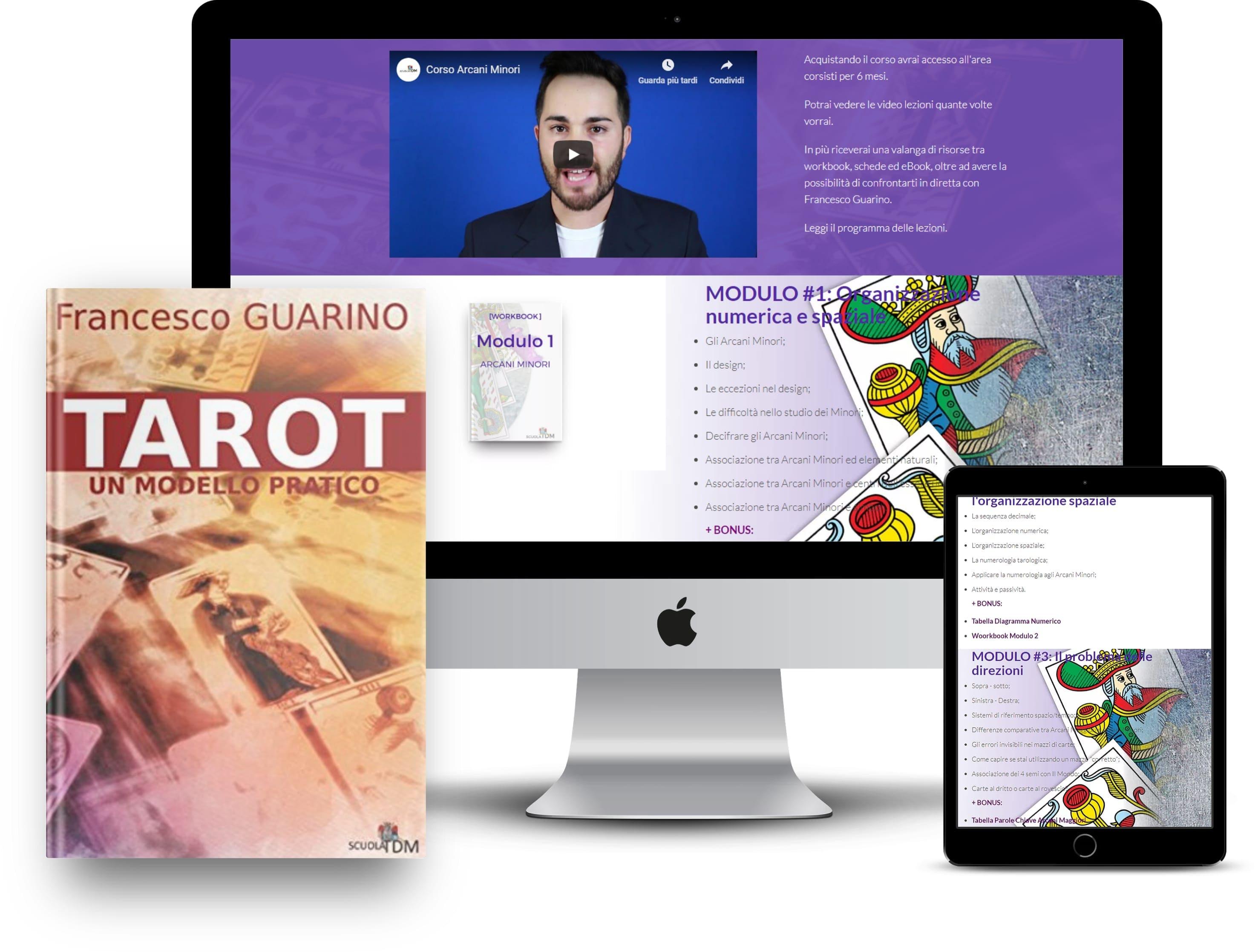Pacchetto Arcani Minori E Tarot Un Modello Pratico Offerta