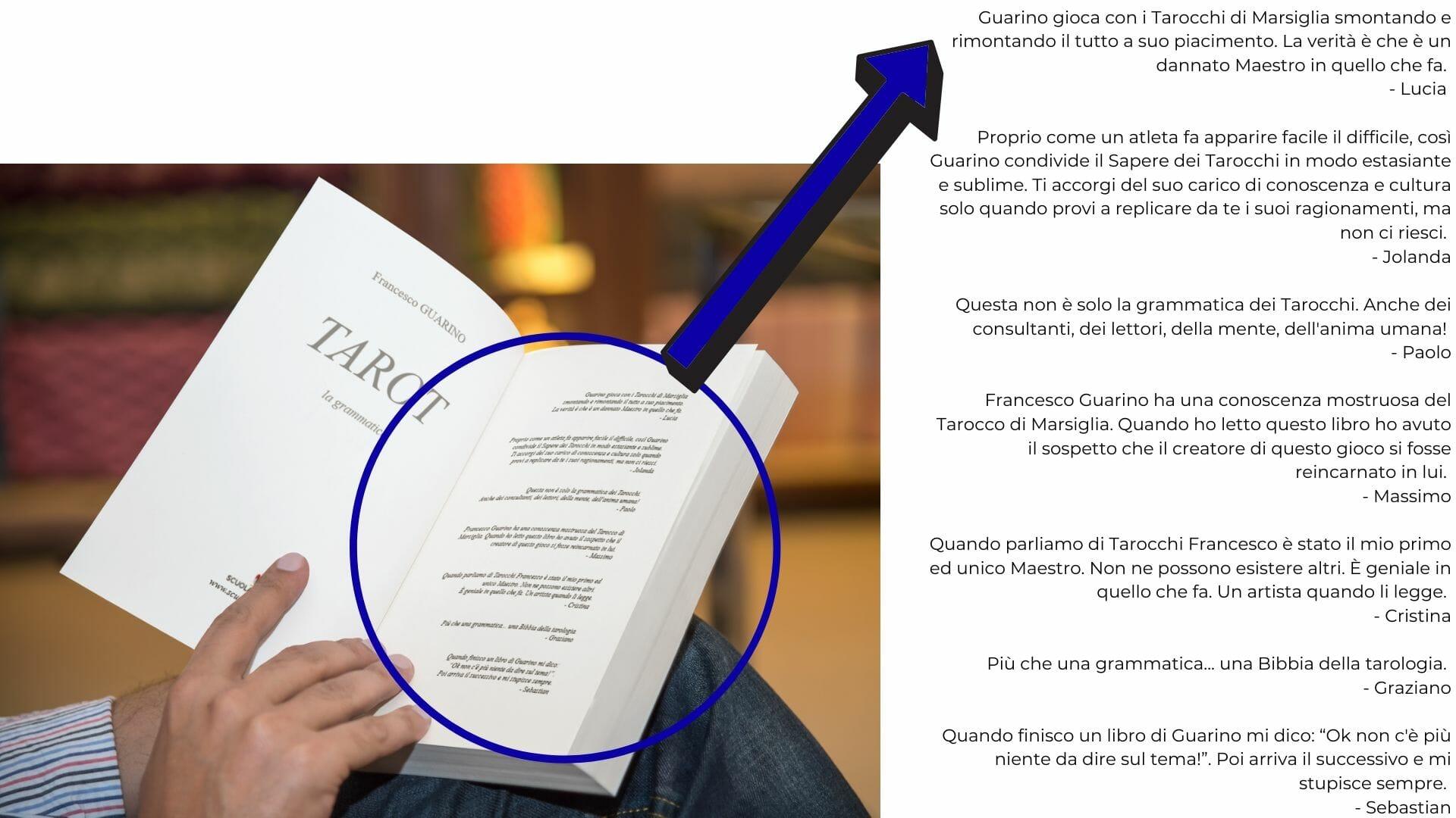 Libro Tarot La Grammatica Aperto 3
