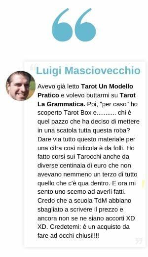 Testimonianze Tarot Box Francesco Guarino Tarocchidi Marsiglia Libri Cartomanzia Luigi
