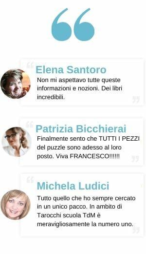 Testimonianze Tarot Box Francesco Guarino Tarocchidi Marsiglia Libri Cartomanzia