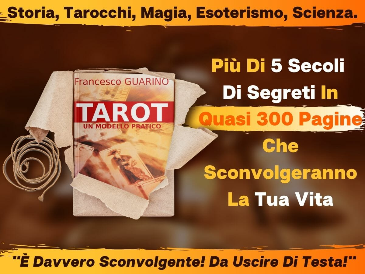 Libro Tarocchi Tarot Un Modello Pratico Guarino scuola TdM