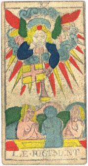 Le Jugement Il Giudizio Conver 1760 Tarocchi di Marsiglia