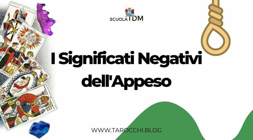 I Significati Negativi dell'Appeso