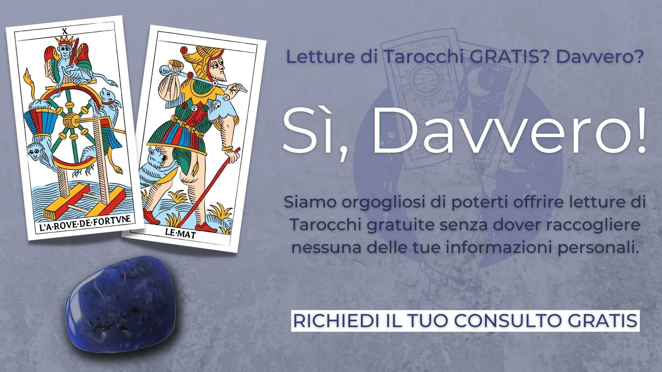 Consulto Tarocchi Cartomanzia Gratis